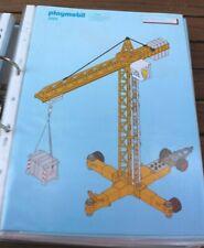 Playmobil® Bauanleitung/Instruction 3262 Baukran (Nr.128)