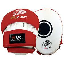 Rix Focus Pads Gancio E Jab Guanti Kick Boxing MMA Thai Sciopero Curvo Punch Bag