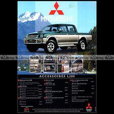 ★ MITSUBISHI PICK-UP L200 1997 ★ Pub AUTO 4X4 Publicité Off-Road Advert #A77