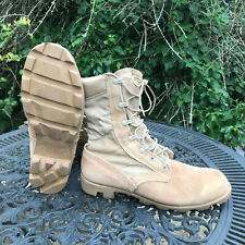 Genuine US Army Issue Vintage Panama Sole Desert Boots US 9.5W UK 9W DB3
