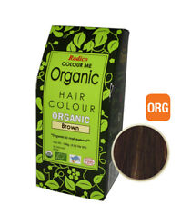 RADICO Colour Me Organic Hair Colour 100g - BROWN ( Made from Henna & Herbs )