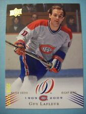 """2008-09 UD Montreal Canadiens """"100th Anniversary"""" Centennial # 18 Guy Lafleur!"""