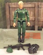 GI JOE vs Cobra green shirt Infantry Division v5 2005 TRU Toys R Us exclusive