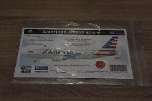 8A Decs Airbus A319 American Decals 1/144