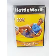 "Kettle Worx- Kettlebell Core Fitness workout DVD ""the six week body transform"""