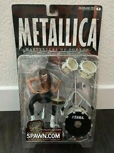 McFarlane Toys Metallica Harvesters of Sorrow Lars Ulrich Action Figure 2001