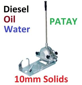 PATAY DIAPHRAGM PORTABLE SITE PUMP - HIGH CAPACITY, BUILT READY TO USE WITH HOSE