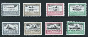 ST. VINCENT/GRENADINES BEQUIA  Sc 186-9   World War II Warships Se-Tenant Pairs