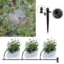 50x Adjustable Water Flow Irrigation Drippers Sprinkler Emitter Drip System Tool