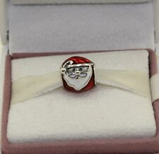 AUTHENTIC PANDORA  Jolly Santa Charm 791405ENMX    #657