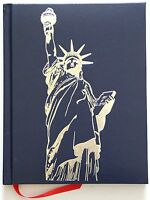 The Making of America by Historian Robert D. Johnson Blue Leather Bound 2002
