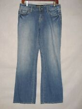 D8057 Lucky Brand Lola Boot Stretch Killer Fade Jeans Women's 31x30