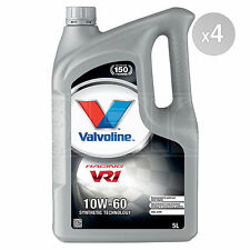 Valvoline VR1 Racing 10W-60 10W60 Premium Synthetic Blend Engine Oil 20 Litres
