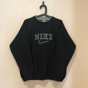 Vintage Nike Sweatshirt - Black