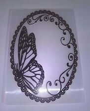 Butterfly Embossing Folder Background Card Making Scrapbooking Journaling Diary