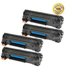 4 Black 83A CF283A Toner Cartridges For HP LaserJet Pro M127fn M127fw M125nw MFP