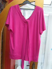 Wallis Viscose Cap Sleeve V Neck Tops & Shirts for Women