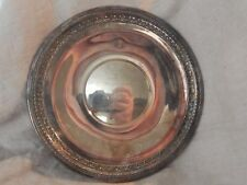 Vintage Reed and Barton Silverplate Trophy Tray 1203 1966 Past Honored Queen