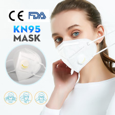 20pcs Valve Masks Well-fitting and Breathable- SAME DAY SHIPPING