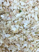 Biodegradable White IVORY Wedding Confetti NATURAL Petals DYE-FREE 7 Guests