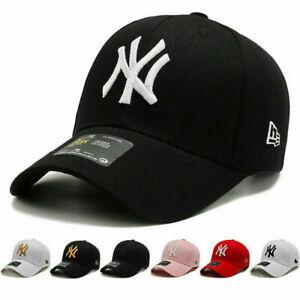 Unisex Mens Womens Baseball Cap Adjustable NY2 Snapback Sport Hip-Hop Sun Hat