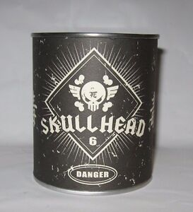 Fully Visual SKULLHEAD Huck Gee LE 100 Silver Plated Metal Limited Skull SEALED