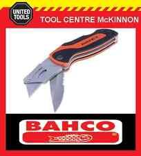 BAHCO KBTU-01 FOLDING TWIN BLADE SPORTS LOCKBACK UTILITY / STANLEY KNIFE