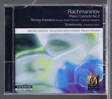 RACHMANINOV CD NEW  PIANO CONCERTO No 2-  RAYMOND LEWENTHAL-MAURICE ABRAVANEL