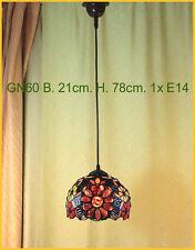Tiffany Decken Lampe Deckenlampe Hängelampe Tiffanylampe GN60
