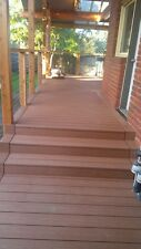 Decking Solid WPC Wood Plastic Composite No Maintenance!!
