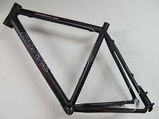 Müsing Crozzroad Disc Cyclo Cross Cyclocross Conjunto de marcos 54cm negro mate