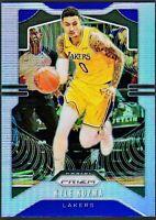 KYLE KUZMA 2019 Panini Prizm Silver Holo Refractor Lakers NBA Champions