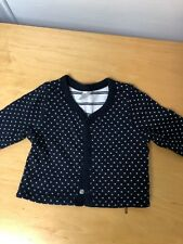 GAP Baby Girl's Navy Bottom Down Jacket Size 0-3 Months In Great Condition!!