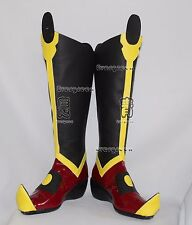 Avatar The last Airbender Azula Halloween Long Cosplay Shoes Boots C006