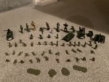Job Lot Vintage Metal & Plastic Toys - Soldiers & Army vehicles