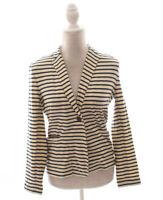J Crew Factory Stripe Knit Pocket Blazer Jacket Size S Small