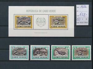 LN72861 Cape Verde 1986 reptiles animals fine lot MNH cv 57 EUR
