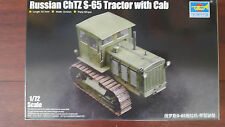 ChTZ S-65 RUSSIAN TRACTOR w/ CAB TRUMPETER 1/72 PLASTIC KIT