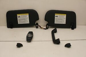 2015-2018 Ford Focus ST oem black color sun visors set with light and trims