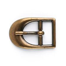D Buckle: 20mm: Brass