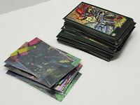 1995 Spawn & 1994 Wild Cats Collectible Hero Villain Trading Card Lot of 75+