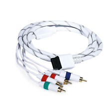 NEW - 6FT Audio Video ED Component Cable for Wii / Wii U (Net Jacket) - Canada