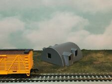 QUONSET OFFICE Building - HO Scale - 1:87 Military or Farm Cluster - Built Up