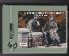 WARRIORS SCALE MODELS 35146 - LUFTWAFFE FIELD DIVISION TROOPS #2 1/35 RESIN KIT