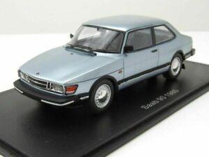 SAAB 90 1985 LIGHT BLUE METAL NEO 43674 1/43 RESINE MODEL CAR SWEDEN