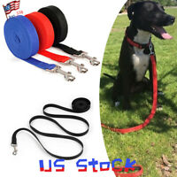 Nylon Pet Dog Leash Lead Rope Clip Reflective for Puppy Collar Harness Rope US