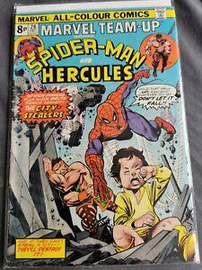 MARVEL TEAM UP #28 COMIC SPIDERMAN DECEMBER 1974