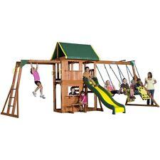 Play Set Swing Set Outdoor Playset Backyard Swingset Day Care Playground Kids