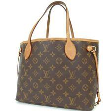 Authentic LOUIS VUITTON M40155 Monogram Neverfull PM MB2088 Tote Bag PVC/can...