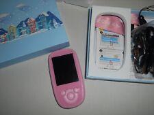 AGPTEK 8GB Bluetooth kids MP3 Player,2.4 Inch TFT LCD Large Screen Display pink